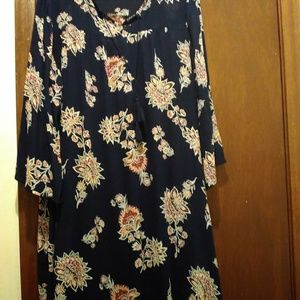 Women's Old Navy Floral Lightweight Dress, Size La